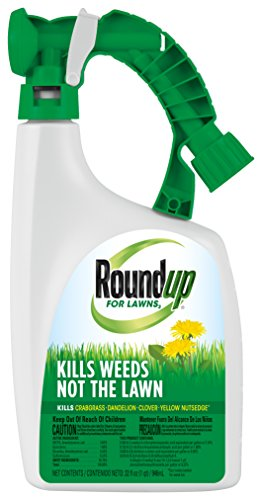 Roundup 5008810 32oz-Dandelion Clover, Dollarweed and Yellow Nutsedge Killer, 32 OZ, Won't Won't Harm Grass