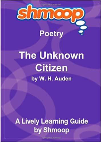 the unknown citizen poem text