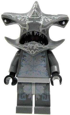 LEGO Atlantis Loose Hammerhead Warrior Minifigure [Loose]