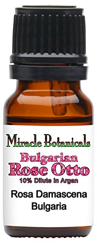 Miracle Botanicals Bulgarian Rose Otto 10% Dilute in Golden