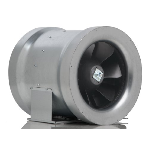 Can Max Fan Mixed Flow Inline Fan, 12-Inch 1709 Cubic Feet Per Minute