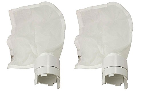ATIE PoolSupplyTown Pool Cleaner Sand and Silt Bag Replacement Fits for Polaris 360, 380 Vac-Sweep Sand/Silt Bag 9-100-1012 (2 Pack)