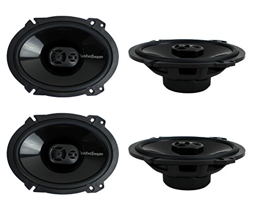4) New Rockford Fosgate P1683 6x8