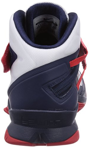 Nike Heren Zoom Soldaat Viii Prm Basketbalschoen Wit