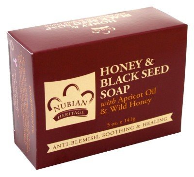Nubian Soap Honey Black Apricot product image