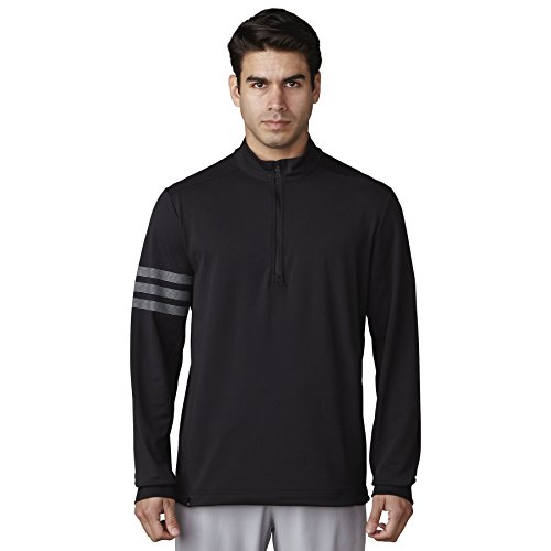 adidas Golf Men's Adi Competition 1/4 Zip Jacket, Black, X-Large by adidas