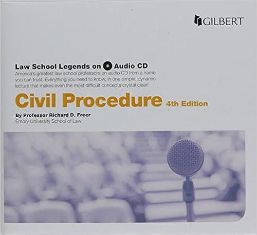 Law School Legends Audio On Civil Procedure Law School Legends