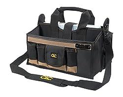 Clc Custom Leathercraft 1529 16-pocket, 16-inch Center Tray Tool Bag