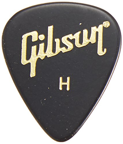 Gibson Style Guitars (Gibson Gear APRGG-74H 1/2 Gross Standard Style Guitar Picks (Heavy))