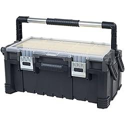 Stalwart 75-MJ5051B Contractor Grade Tool Box – 22 Inch