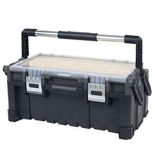 Stalwart 75-MJ5051B Contractor Grade Tool Box – 22 Inch by Stalwart