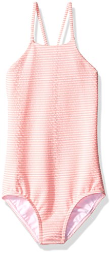 Seafolly Big Girls' Riviera Belle Tank, Coral Pink, 14