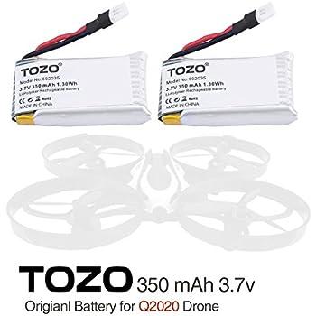 TOZO Q2020-05 Lithium battery for Q2020 Drone RC Quadcopter Remote Quadcopter.[ 2PCS ]