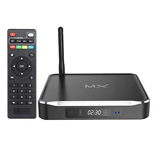 Milool 2016 Neue Version Amlogic S812 Android Kitkat Quad Core Media Streaming Clients Geräte 8GB NAND Flash 2GB DDR3 4K HD Blu-ray OS Fully Loaded Kodi 14.2 Home Medien System