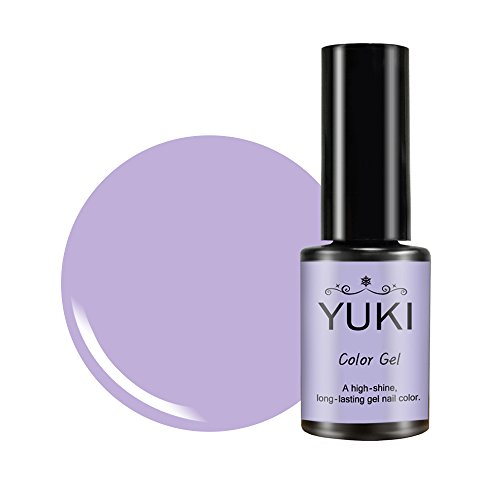 YUKI Color Gel Nail Polish | UV LED Soak Off | 235 Every Color You can Imagine 0.17oz/5g (028 Lilac Milk) from YUKI