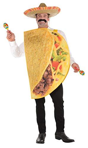 amscan Taco Costume Adult Plus -