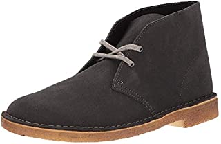 CLARKS Men's Desert Chukka Boot, Dark Grey Suede, 8 M US (B00AYCL4X6) | Amazon price tracker / tracking, Amazon price history charts, Amazon price watches, Amazon price drop alerts