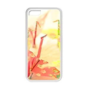 Welcome!Iphone 5C Cases-Brand New Design Paper Crane Printed High Quality TPU For Iphone 5C 4 Inch -05