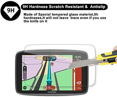 """Special For Tomtom GO 620 6200 6250 GPS 6/"""" Display Navigation Screen Protector R"""