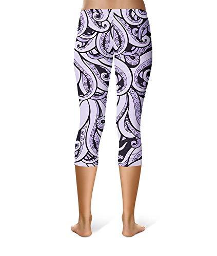 Colour Pantaloni Sport Leggings Fashion Ladies Festa Style Casual Fantasia Stretch Stampati Fitness Allenamento 17A7RxZw