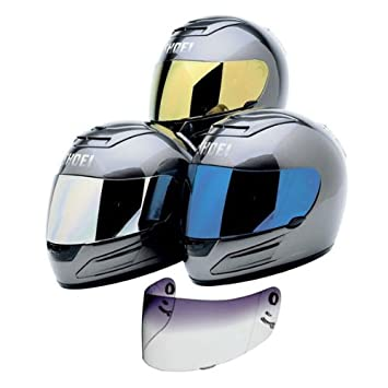 ca806f9a Image Unavailable. Image not available for. Color: Shoei Shield CX-1V  On-Road Motorcycle Helmet Accessories - Color: Spectra Blue