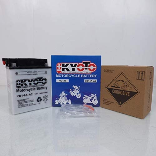 Batterie Kyoto Quad Polaris 500 Scrambler 4X2//4X4 1998-2005 YB14A-A2 12V 14Ah Neuf