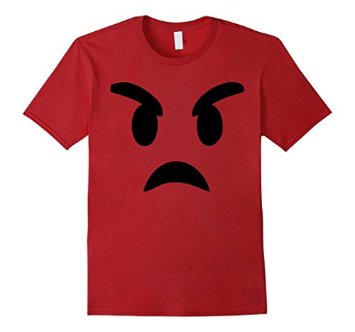 Men's Emoji T Shirt Devil Face