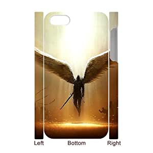 FOCUSCASE Design for 3D Bumper Plastic Case Of Fantasy Angel ,customized case For Iphone 4/4s
