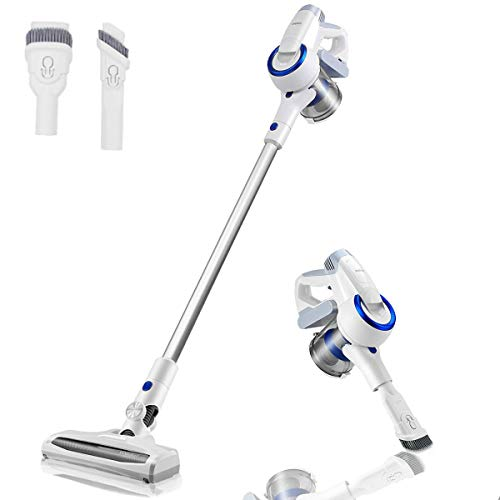 Vanergy Cordless Vacuum Cleaner, Stick Vacuum 2 in 1, 150W Brushless Motor, 5 Stage Hepa Filter, Detachable Lithium Battery & Ultra-Wide Roller Brush, for Deep Cleaning and Pet Owner