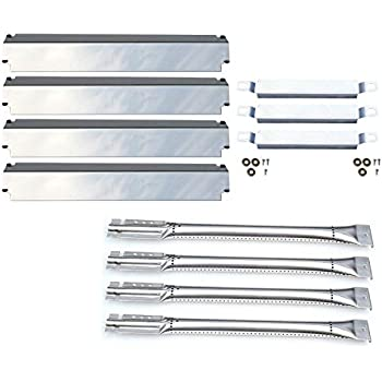 Replacement Charbroil Gas Grill Burners Heat Plates /& Crossover Tubes DG100 New