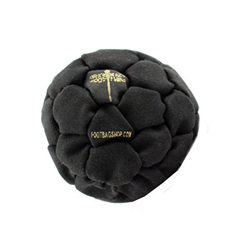Dragonfly Footbags Midnight 32 Panel 50 Gram Metal Filled (Hacky Sack)