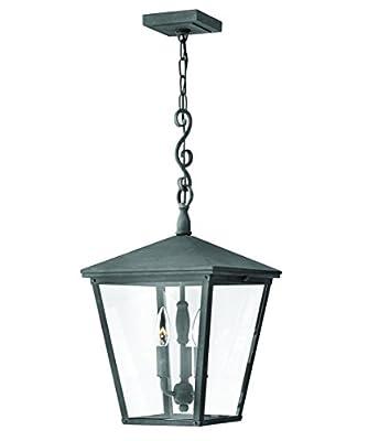 Hinkley Lighting Trellis 11 Inch Wide 3 Light Outdoor Hanging Lantern