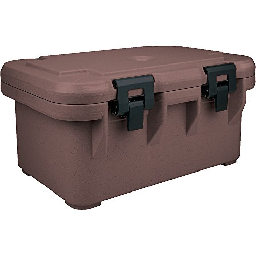 Cambro Insulated Food Carrier for 8'' Deep Pans, S-Series Dark Brown UPCS180-131 by Cambro