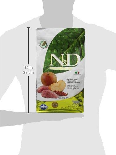 Farmina Natural and Delicious Boar and Apple Grain-Free Formula Dry Cat Food, 3.3 Pound Bag by Farmina (Image #5)