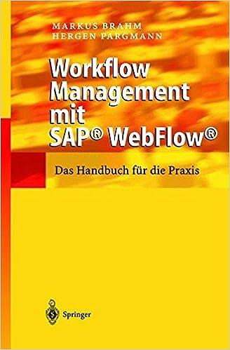 Workflow Management mit SAP