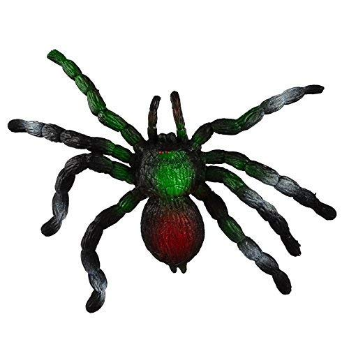 Realistic Squishy Spider - Prank Toy Scary Simulation Animal Model -Big Soft Elastic (Stretch up to 3 Feet ) - Stress Reliever