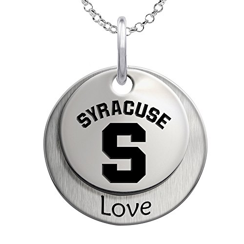 Syracuse University Orange Love Stacked Necklace by College Jewelry