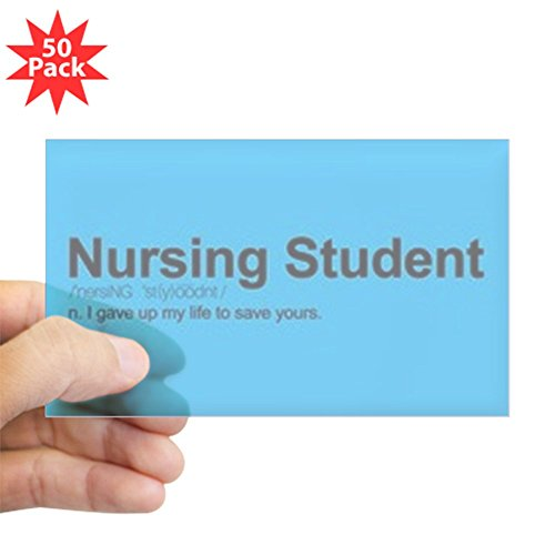 CafePress - Nursing Student Definiti - Sticker (Rectangle 50 pk) by CafePress