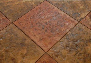 Tennessee River Slate Tile | Concrete Stamp - Floppy (Single Flex Stamp)