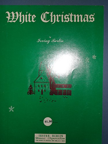 WHITE CHRISTMAS IRVING BERLIN 1942 SHEET MUSIC SHEET MUSIC 364
