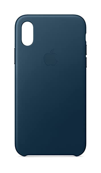 info for d3fe7 88798 Apple iPhone X Leather Case - Cosmos Blue