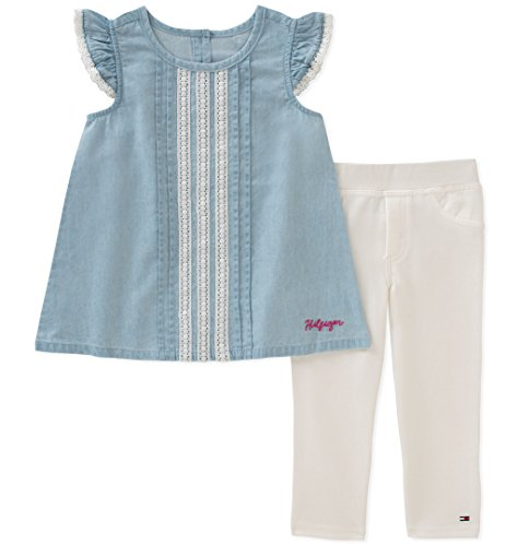Cute Children Outfits - Tommy Hilfiger Girls' Toddler Tunic Set,