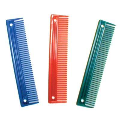 10 Inch Mane Comb - Red