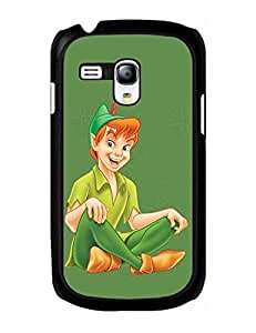 Peter Pan Galaxy S3 mini Fundas Cover, Protector Design Image Custom Samsung Galaxy S3 mini, Hard Plastic Phone Accessories for Men