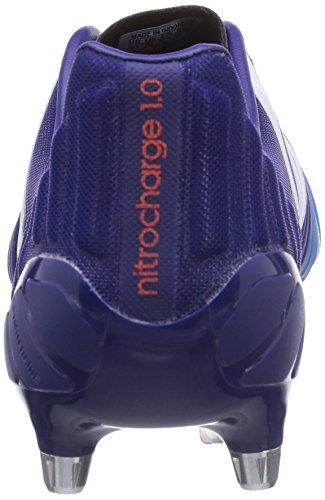 White Bleu Chaussures adidas Football 0 SG 1 Amazon S14 Solar Homme Nitrocharge F14 Ftwr Blue2 Purple de TwB8gO