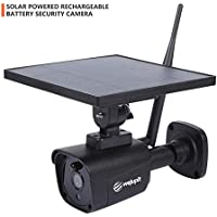WeJupit All-in-One Solar Powered WiFi Outdoor Security Camera