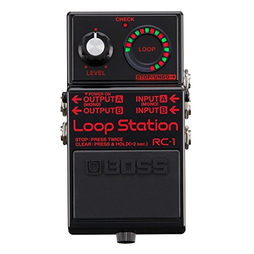 BOSS / RC-1-BK Loop station 2018년 한정 컬러 모델