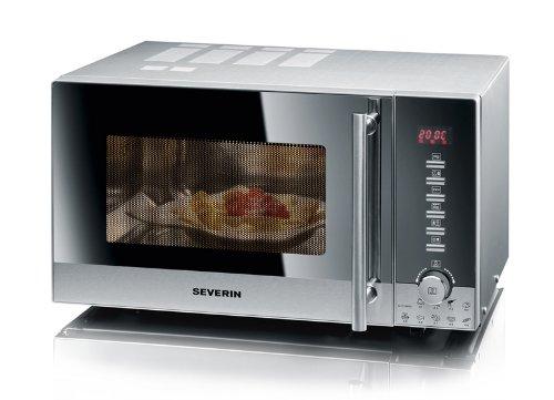 Severin MW 7870 Microondas con grill, 800 W, 20 litros, Gris y ...