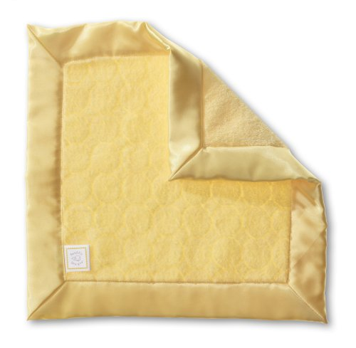 SwaddleDesigns Security Blanket Yellow Circles