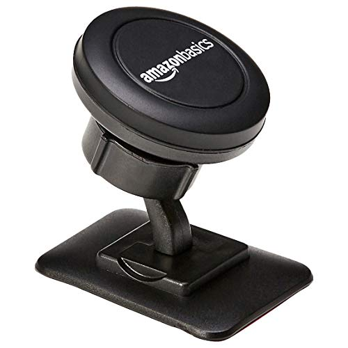 - AmazonBasics Universal Stick-on-Dashboard Car Cell Phone Mount Holder